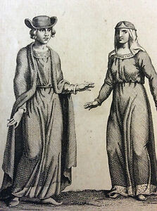 Engraving-on-Wood-Wear-Anglo-Norman-England-12e-Century-Print-18th