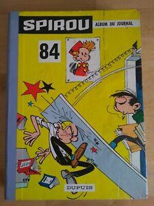 Le-Journal-de-Spirou-Album-N-84-reliure-editeur-Dupuis-1962