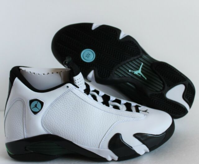 df3b79e04068 ... wholesale nike air jordan 14 retro white black oxidized green sz 18  487471 35db8 bdb6f