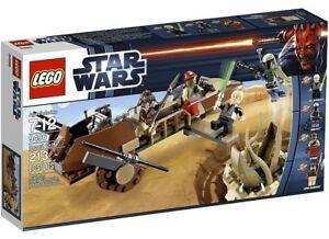 Lego Star Wars Retour De La Jedi Skiff Set De Skiff # 9496