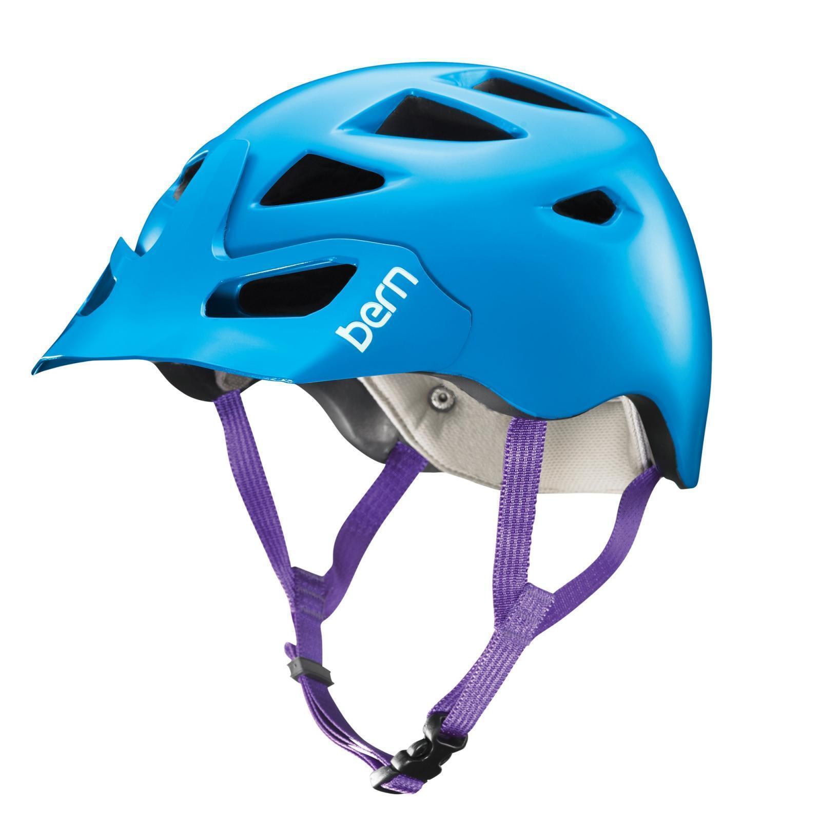 Bern Helm Prescott Zipmold -Visor MTB-Helm, Fahrradhelm 55,5-58cm, 55,5-58cm, 55,5-58cm, blau a9462f