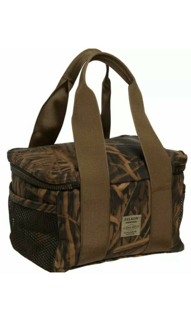 Filson Soft-Sided Lunch Cooler Tin Cloth Mossy Oak Shadow Grass Lunchbox  155
