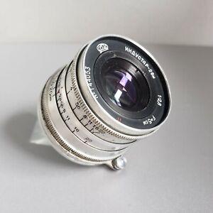 Industar-26m Lens 2.8/50mm Soviet RF Lens M39 Leica FED Zorki