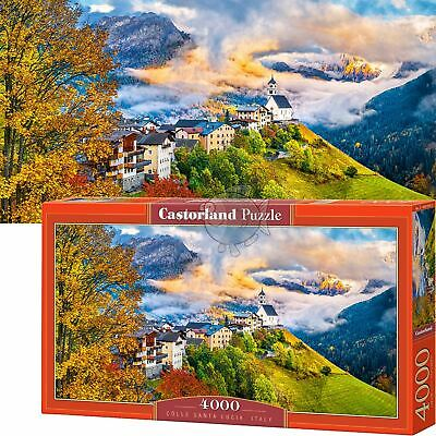 Germany C-300464 FREE SHIPPING New 3000 pcs pc Puzzle jigsaw Castorland Ramsau