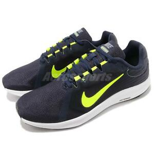 f7a7c2ebddb9e3 Nike Downshifter 8 Navy Obsidian Volt Mens Running Shoes Trainers ...