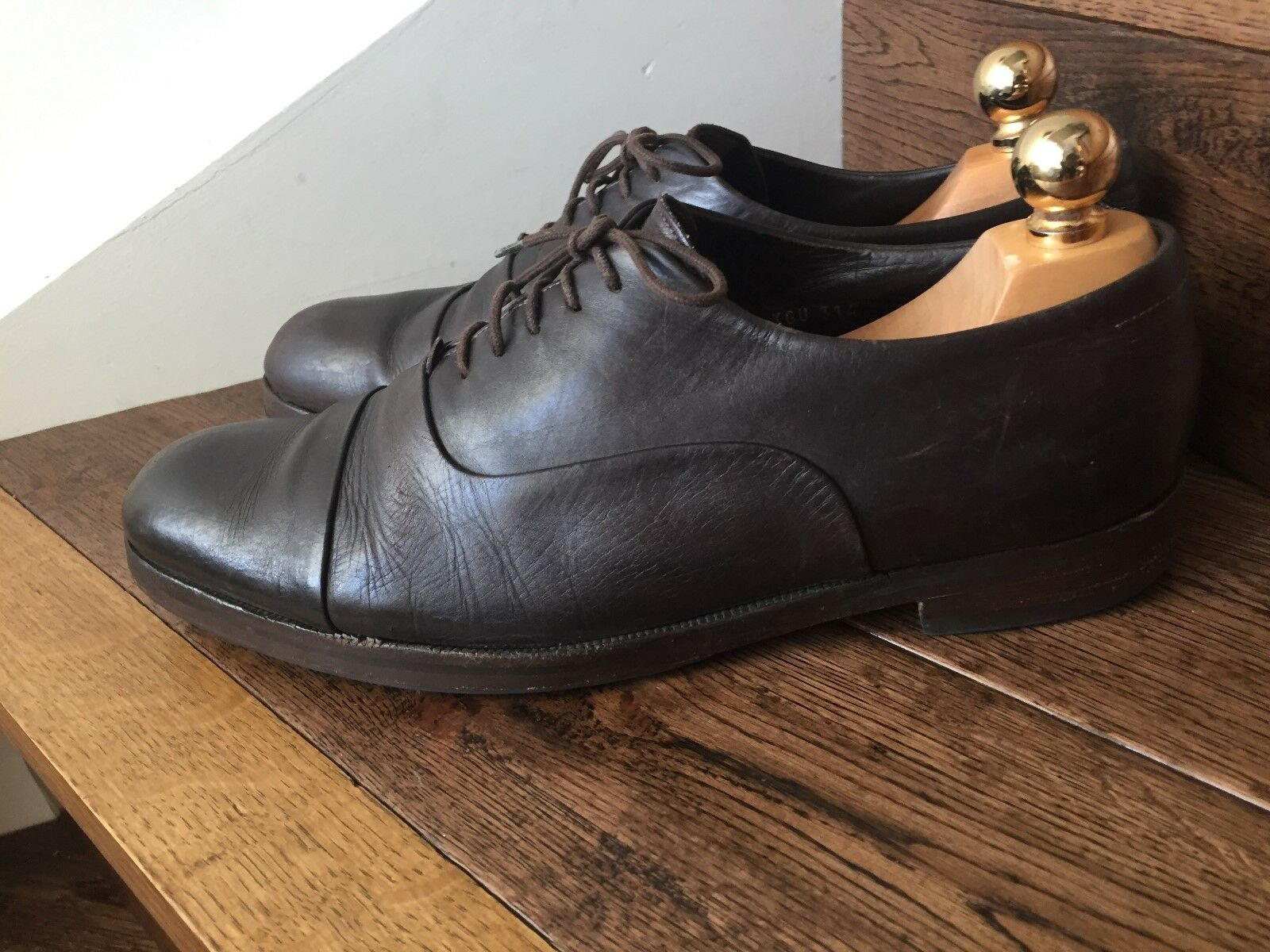 A Lovely Lovely Lovely Pair of 'Giorgio Armani' Mens Leather schuhe. 6f5fe7