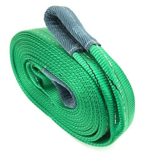 Recovery Strap 2 Tonne Tow Strap x 8 Metres With 4.75 Tonne Shackles 2000kg