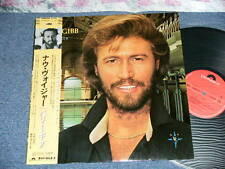 BARRY GIBB BEE GEES Japan 1984 NM LP+Obi NOW VOYAGER