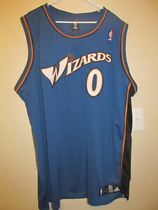 cd44c8a24 Image is loading Gilbert-Arenas-Washington-Wizards-Authentic-Basketball- Jersey-Adidas-