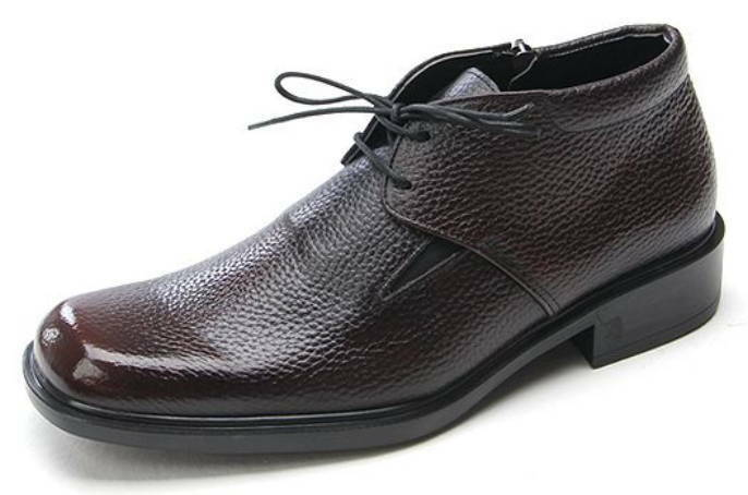 Mens Genuine Leather Dress Formal Business Lace Up Ankle  stivali Oxfords scarpe  consegna lampo