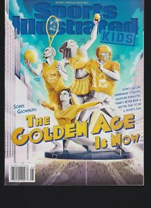 SPORTS ILLUSTRATED (SI) KIDS Magazine MAY 2019, THE GOLDEN AGE IS NOW, NO LABEL