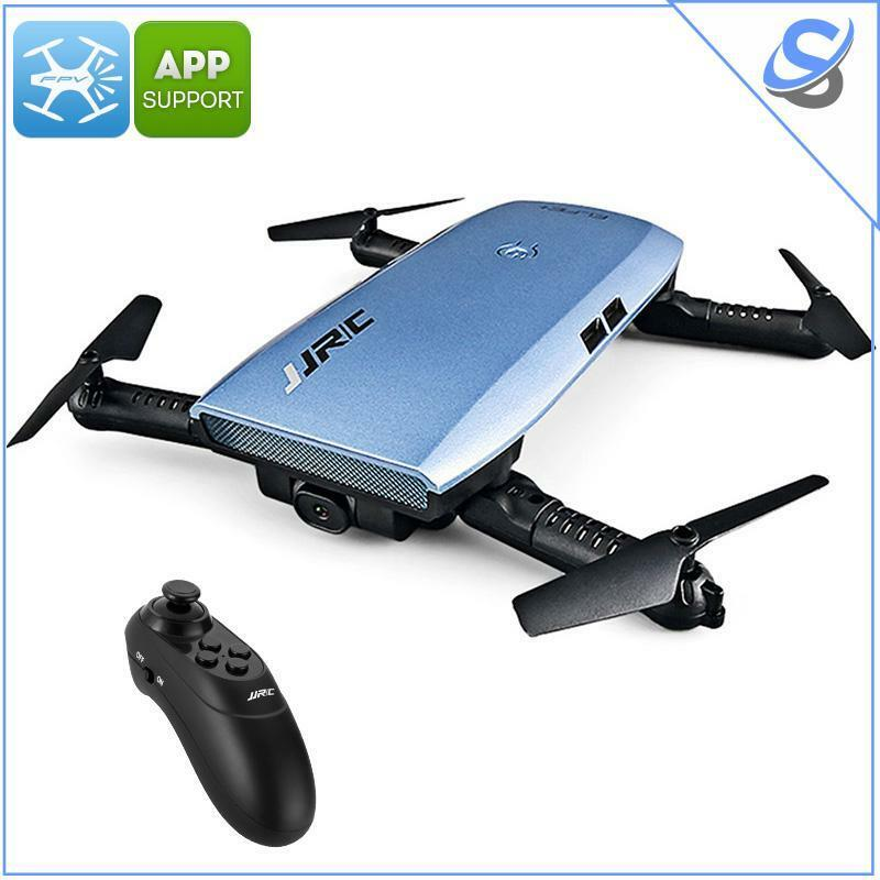 JJRC H47 ELFIE+ Foldable Drone 720p Camera 6 Axis 7 Min Flight Time FPV App