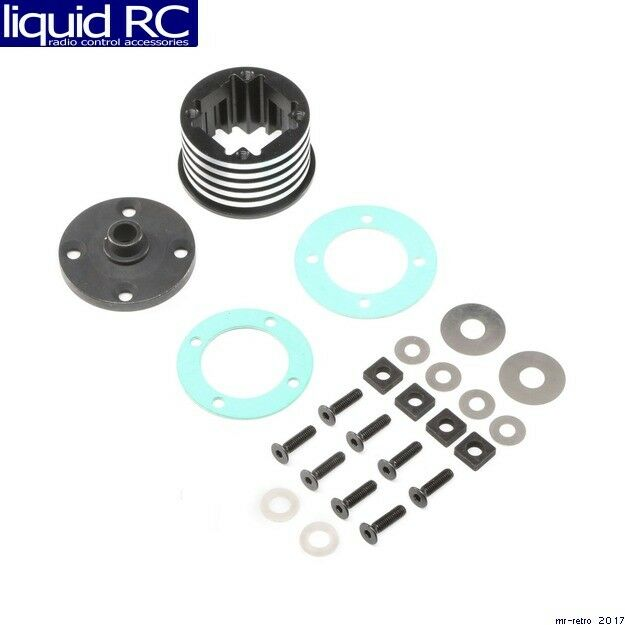 Losi 252066 Diff Housing Set Aluminum 1   DBXL-E