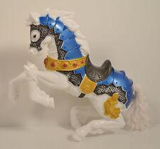 "8"" White Medievil Knight Horse Chap-Mei Action Figure"