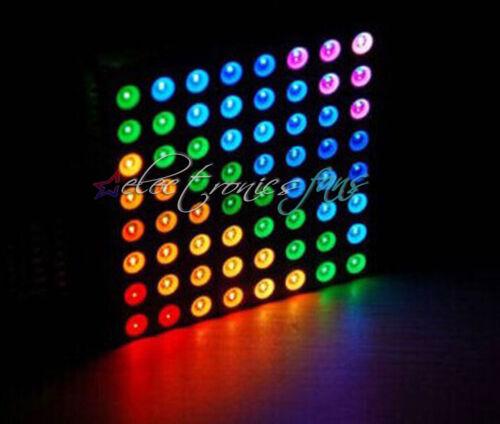 5mm 8*8 8x8 Voll Kolorit RGB LED Dot Matrix Display Modul Common Anode