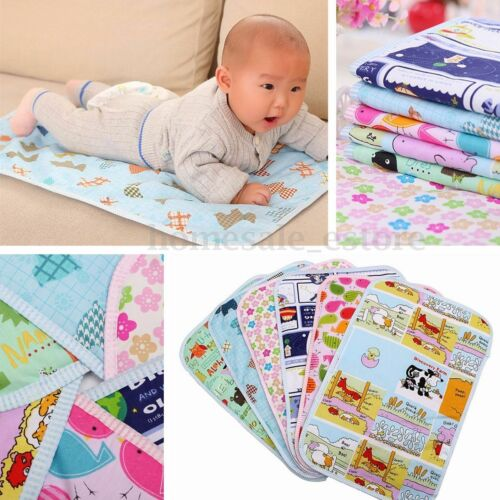 New Baby Infant Waterproof Urine Mat Changing Pad Cover Change HV