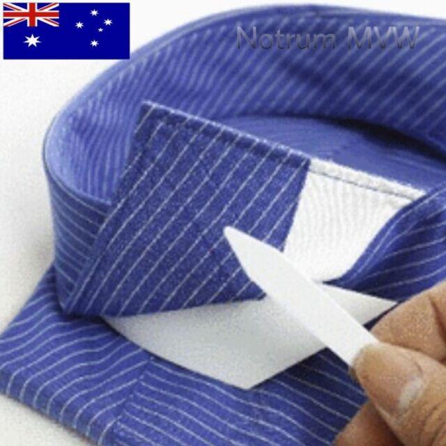 5 Pairs White Plastic Formal Shirt Collar Stays Straightener Stiffener 2 Inch