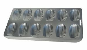 Fox-Run-12-Cup-Heavy-Duty-Nonstick-Madeleine-Shell-Shape-Cake-Mold-Cookie-Pan