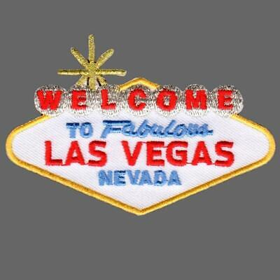 Nevada Iron on Welcome to Fabulous Las Vegas Patch
