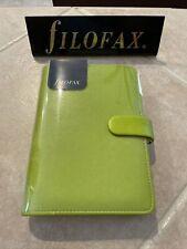 Nwt Filofax Personal Size Saffiano Organiser Planner Pear Leather 022531