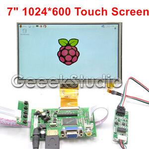 7-034-inch-LCD-DIY-Monitor-for-Raspberry-Pi-HDMI-VGA-2AV-Driver-Board-Touch-Screen
