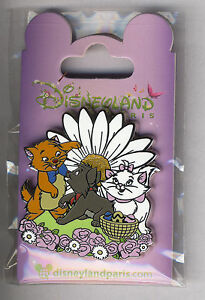 Disneyland Paris Disney Pin The Aristocats Marie Berlioz Toulouse - France - Collection Disneyland Paris Pin Marie & Berlioz & Toulouse Film: The Aristocats - - Combined shipping (wait for new invoice) Example: 4-6 pins - 15 dollars I sell a part of my personal collection of pins and lanyards (years: 2001-2017). Start or  - France