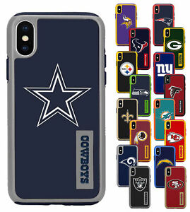 For-Apple-iPhone-X-XS-NFL-Impact-Armor-Shockproof-Dual-Layer-Cover-Case
