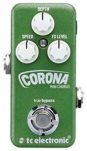 TC-Electronic-CORONA-MINI-Chorus-Guitar-Effects-Pedal-FREE-SHIP
