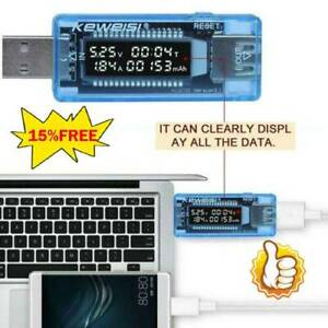 Power-Bank-Meter-Ammeter-Tool-USB-Current-Voltage-Tester-Charger-Capacity