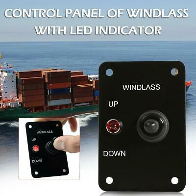 3 Pin Up Down On//Off//On Momentary Toggle Switch Panel 12V 15A for Boat
