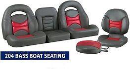 NEW LLEBROC MODEL 204 BASS BOAT SEATS 8PC KIT | eBay