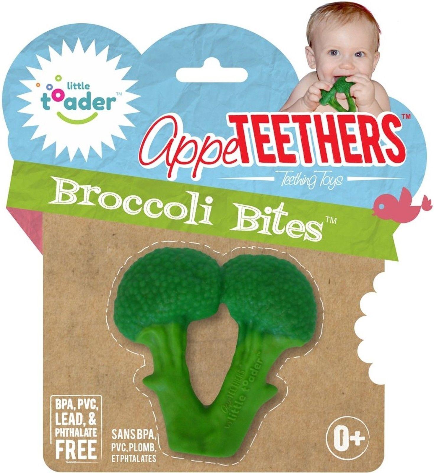 Appeteether Broccoli Bites Baby teether Brote de brócoli bebe dientes