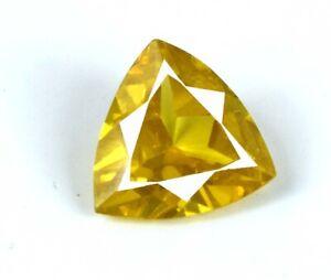 Ceylon Yellow Sapphire Gemstone 6-8 Carat//10mm Natural Cushion Cut AGI Certified