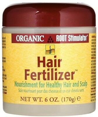 Organic Root Stimulator Hair Fertilizer promotes healthy fast growing hair  170g