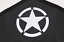 For-1997-2006-Jeep-Wrangler-TJ-Accessories-Front-Hood-Cover-Protector-Black-Star miniature 5