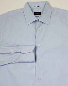 Ermenegildo-Zegna-100-Fili-Bleu-Glace-Carreaux-Coupe-Standard-Robe-Chemise-42