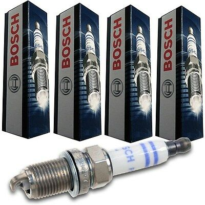 4x AUDI A4 B5 1.8 Quattro ORIGINALE BOSCH Super 4 Spark Plugs