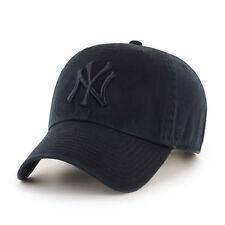 47 BRAND NEW Men's New York Yankees Cap Black Clean Up BNWT