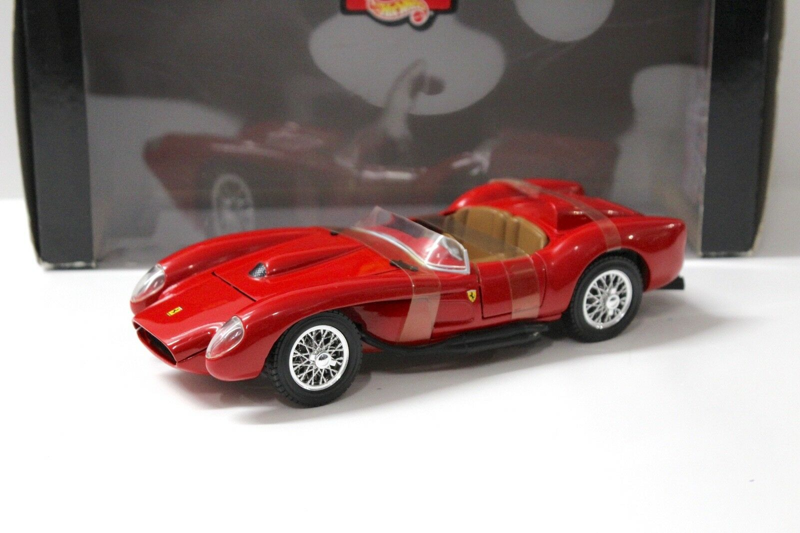 1 18 Hot Wheels Ferrari 250 Testa Rossa red NEW bei PREMIUM-MODELCARS