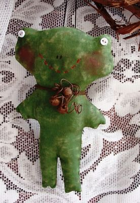 PRIMITIVE WITCH ORNAMENT ORNIE PATTERN MAILED PATTERN PERFECTLY PRIM!!