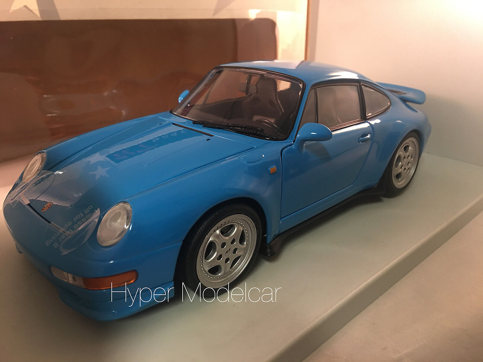 UT Model Model Model 1/18 Porsche 911 (993) RS Light Blue Art. 27818 64bdf6