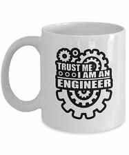 Trust Me I'm An Engineer - Mechanical Wheels - Gift - Engineer Coffee Mug