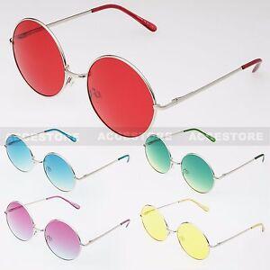 b3d8c9803b4 John Lennon Style Vintage Retro Classic Circle Round Sunglasses For ...