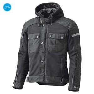 HELD-Sommer-Motorradjacke-Bodie-schwarz-Urban-Style-Gr-M-Wax-Cotton-Jacke-NEU