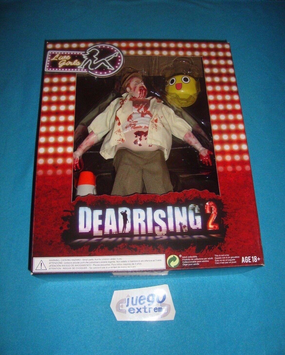 Zombie Figure Dead Rising 2 Outbreak Edition Capcom 12  30cm Completa Boxed New