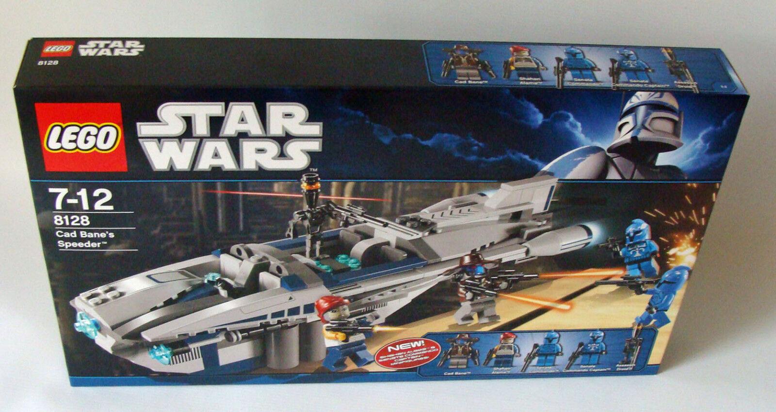 Lego ® Star Wars 8128-CAD Bane's speeder 7-12 años 318 piezas-nuevo