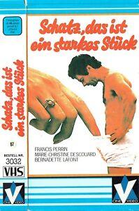 VHS-Schatz-das-ist-ein-starkes-Stueck-Francis-Perrin-Frankreich-1981