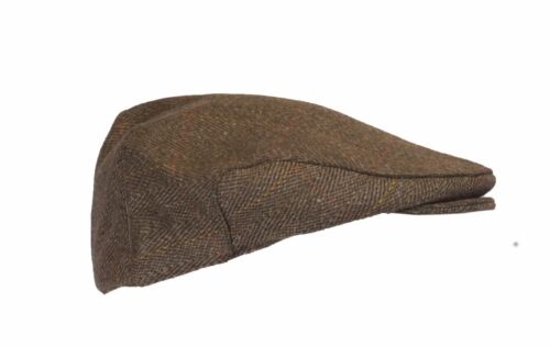 Walker and Hawkes Tweed Flat Cap Shooting Hunting Country Hat Light Dark Sage