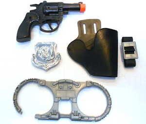 Kids-5-Piece-Detective-Clicker-Toy-Gun-Play-Set