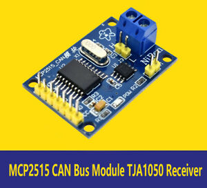 Details about 1PCS MCP2515 CAN Bus Module TJA1050 Receiver SPI Module For  Arduino